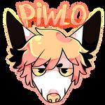 Piwlo badge (BADGE COMISSIONS ON DESC)