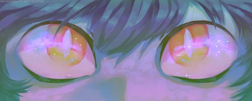 His Sweet Little Eyes
