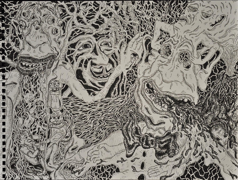 Cosmic Stigmata by mariosvonkerpen