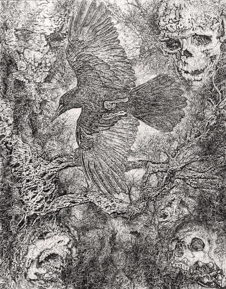 Cult of Corvus by mariosvonkerpen