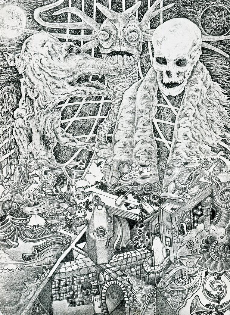 Winter's Dungeon by mariosvonkerpen