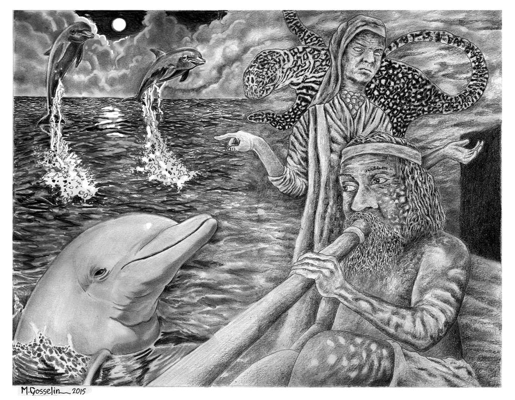 Dolphin Song by mariosvonkerpen