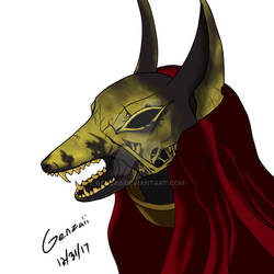 Anubis Head