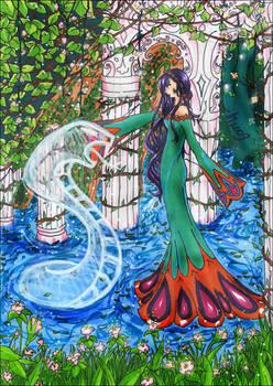 White-Snake -of- Goddess