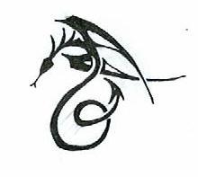 tribal-winged serpent- by deep-heaven