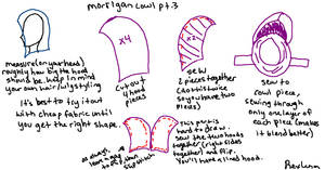 Morrigan Cowl Tutorial Part 3