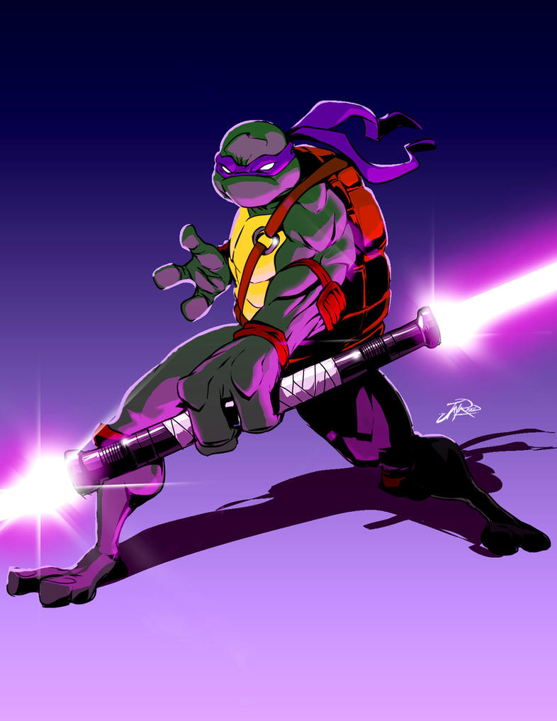 Jedi Donatello by Styleuniversal