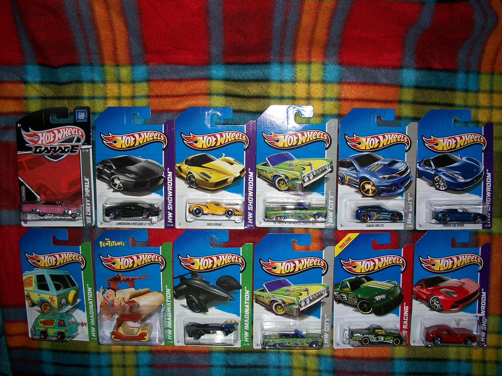 Hot Wheels Haul Treasure Hunts and Rare J Case car by a8702131 on ...