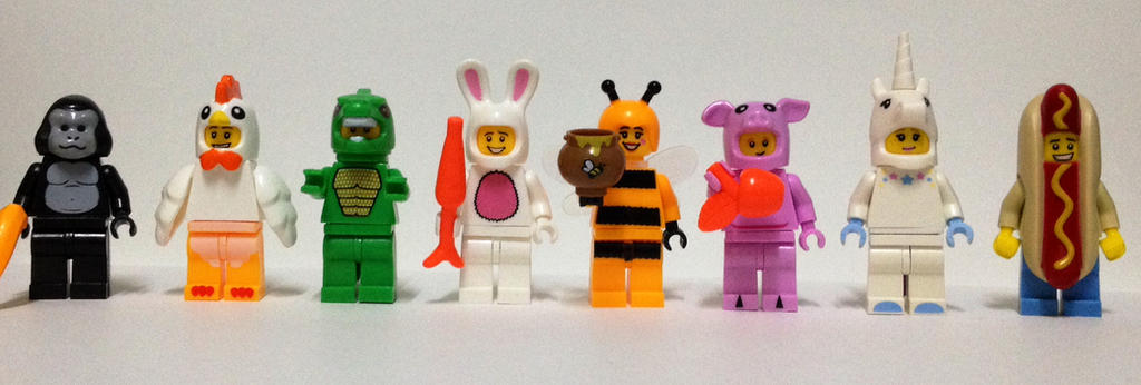 Lego and Bootleg - Costumed Minifig Collection by a8702131