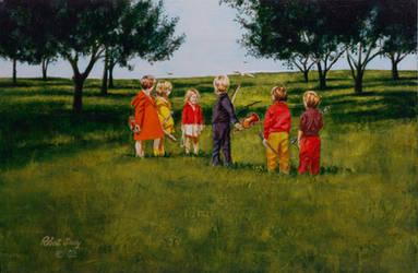 Montessori Children by hank1