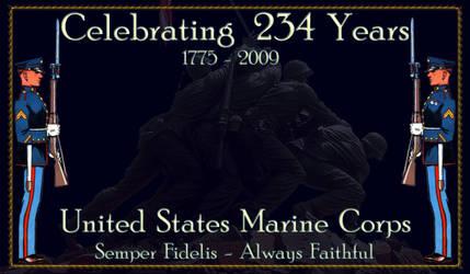 Happy 234th Birthday Marines by hank1