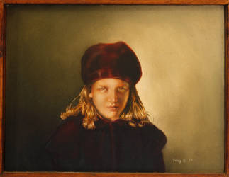 Girl with Hat by hank1