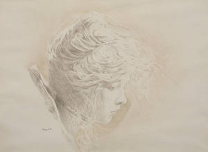 Portrait of Lillian Gish