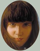 Portrait of Gretchen by hank1