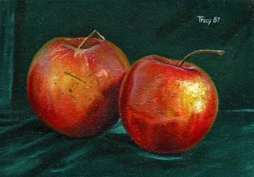 Happy and Sad Apples