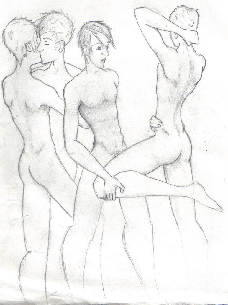 Nude girl with boy drawing with line porn pics