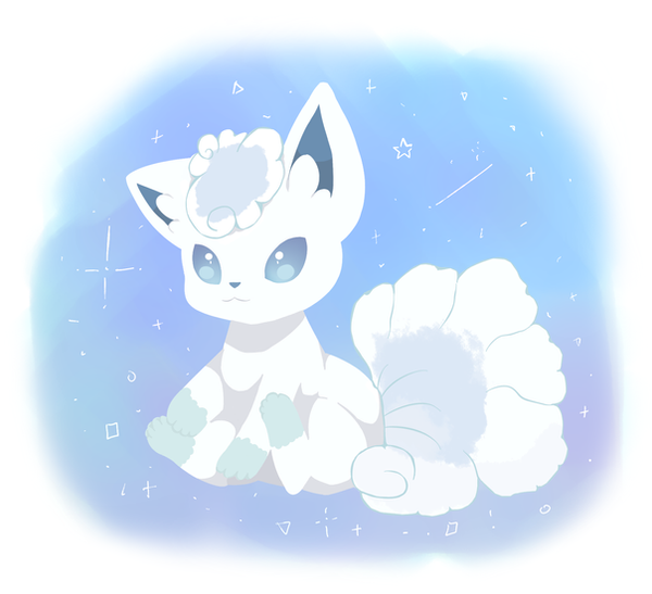 Vulpix Alola by danieruneko on DeviantArt