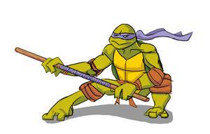 tmnt - Donatello rough drawing