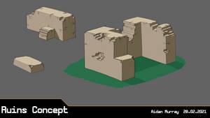 Fantasy Ruins   Concept Sheet