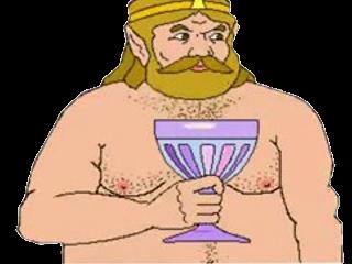 Shirtless King by stupakoopa