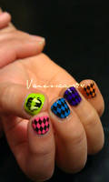 80's Mani by vanessaavr24