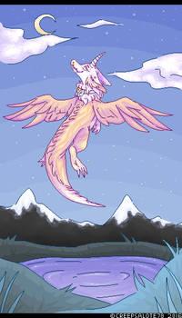 .:Pastel Lake:. (speedpaint added)