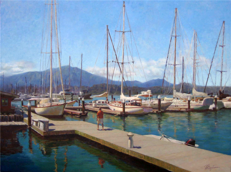 Sausalito's marina