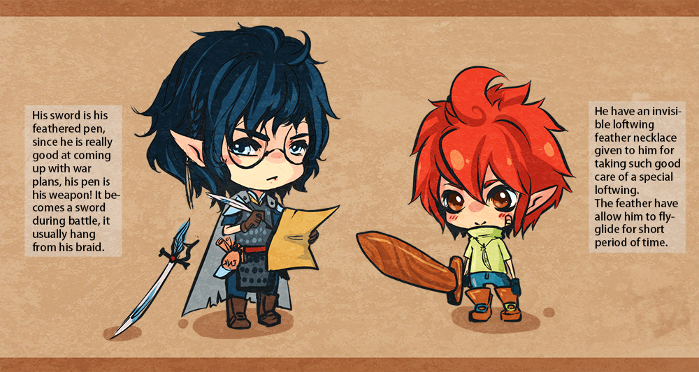 Custom Adopt doodle gift~ by Pikatoro