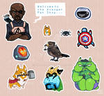 Avenger Pet Shop Sticker