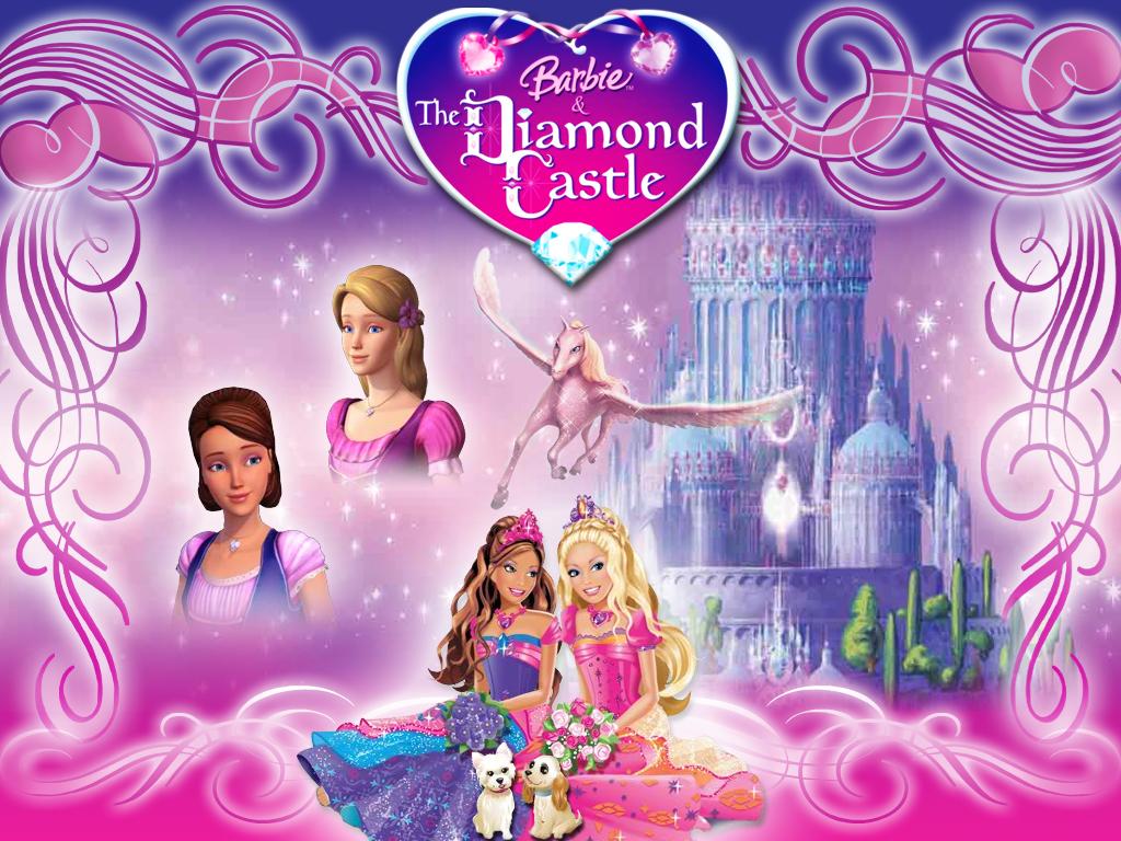 Top Wallpaper Love Barbie - barbie_the_diamond_castle_w2_by_schrita  Best Photo Reference_491371.jpg