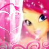 Winx Club Roxy 3D Icon by schrita