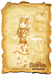 Manga Girl XD by schrita