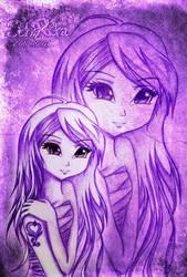 Purple LOVE by schrita
