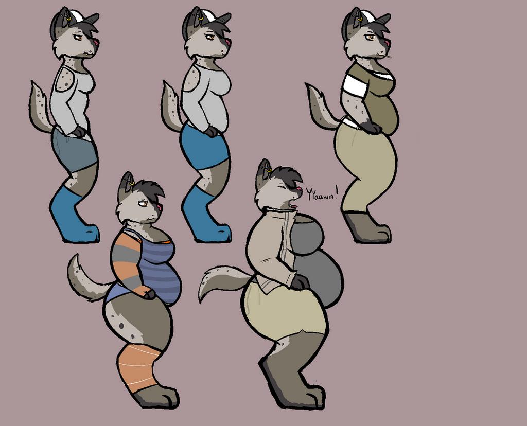 Fat Fur Weight: 8-10 Hyena Weight Gain By Sketchy-Genet On DeviantArt