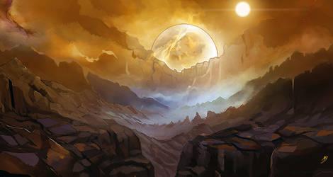 Mars by inthemeadows