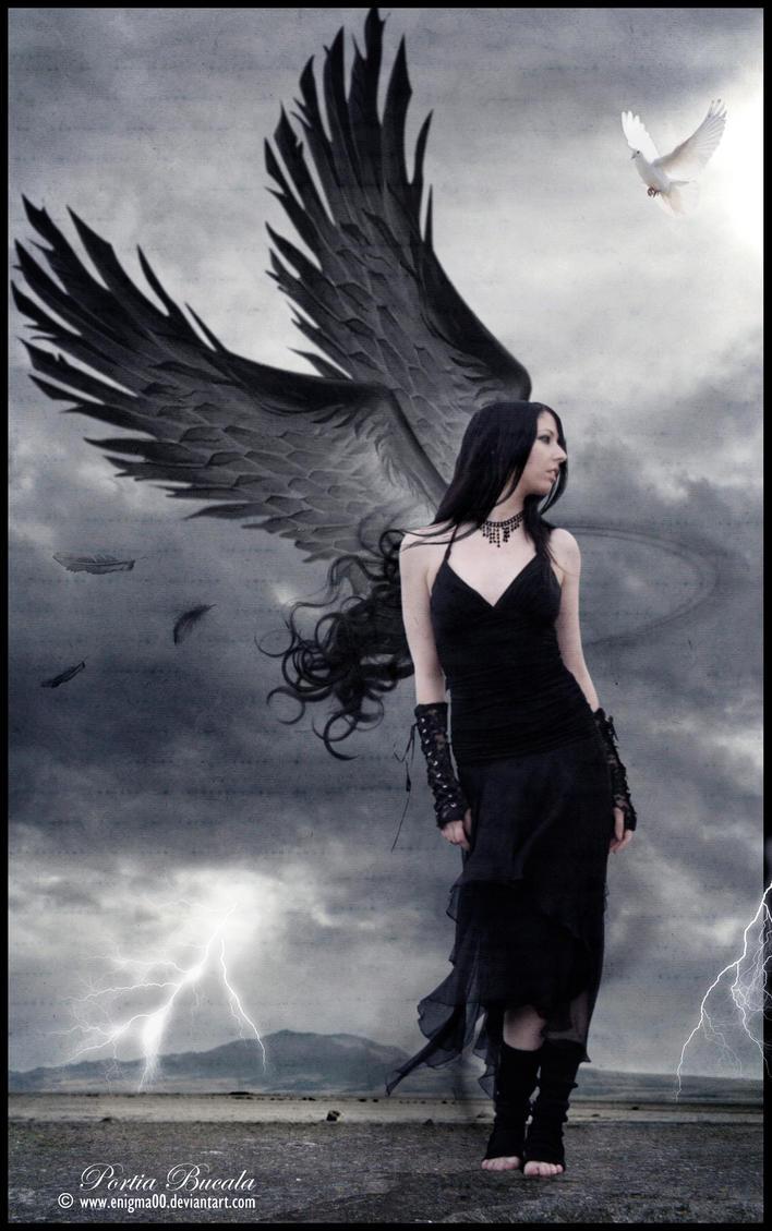 Dark angels on pinterest fallen angels angel art and - Dark gothic angel wallpaper ...