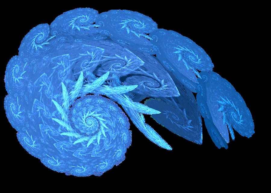 Blue Spiral by KuyaMark12910Stock