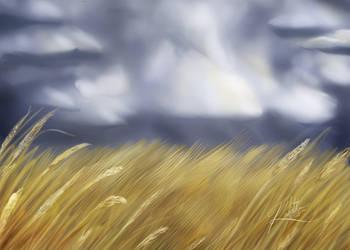 Speedpaint Landscape 1 by Kalietha