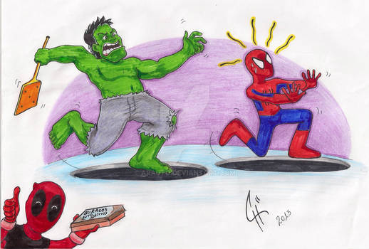 Run, Spidey. Run!