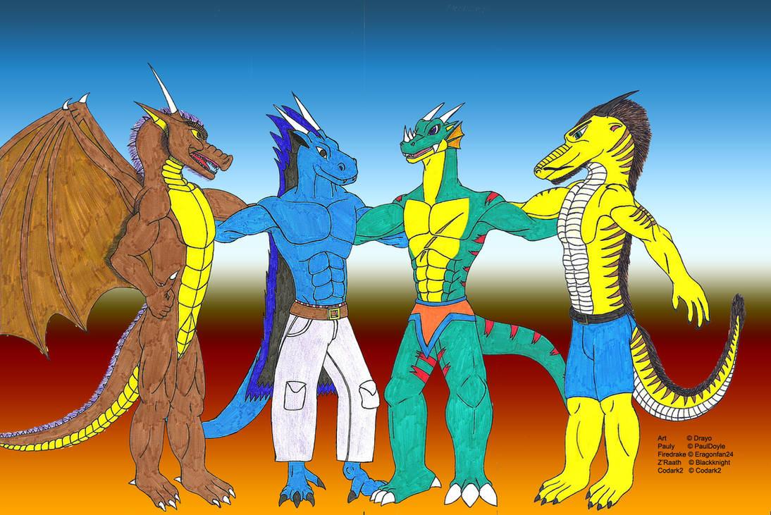 My Dragon Fellas