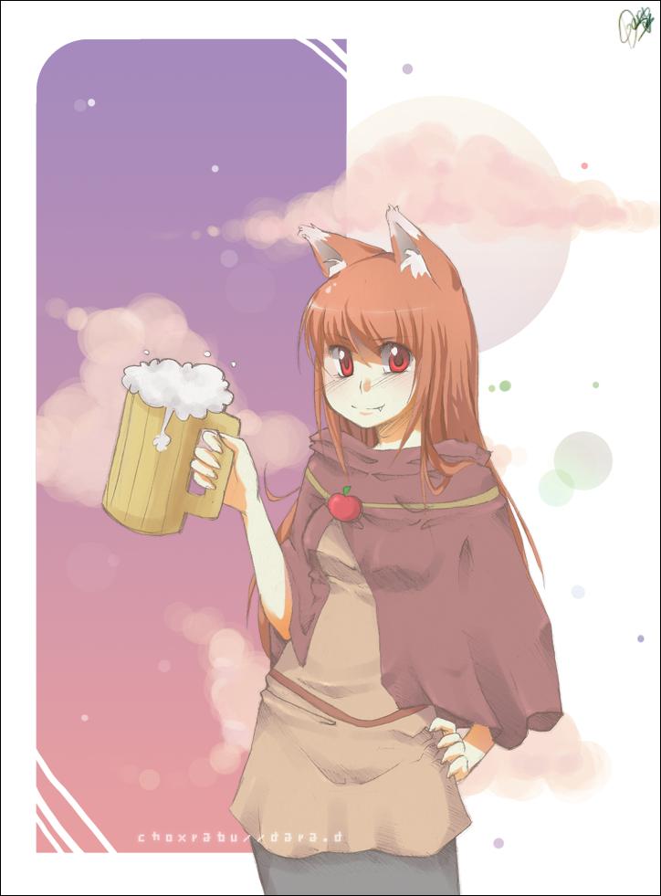 wolf . spice : h o r o by choxrabu