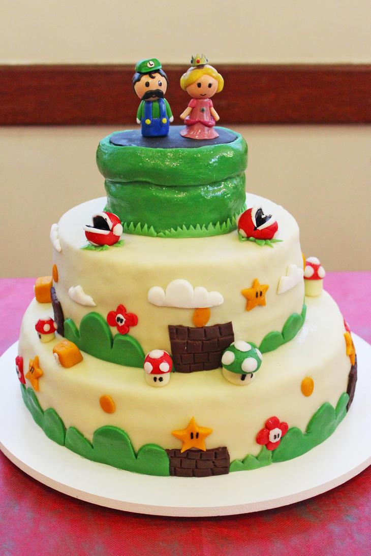 Wedding Videogame Cake