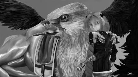 Astolfo Hippogriff sans cape
