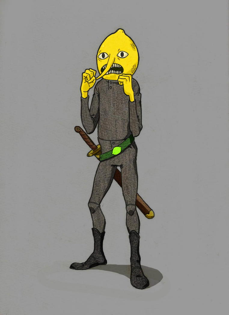 Count Lemongrab by Drew-Draw