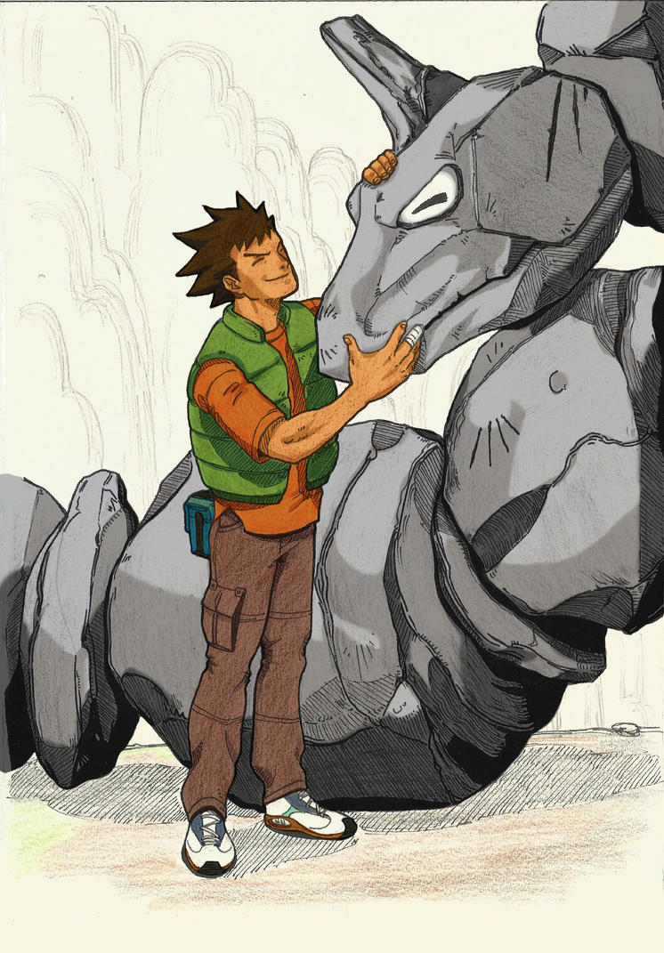 Brock from Pewter by Drew-Draw