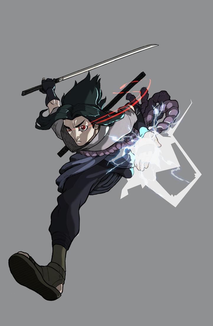 Sasuke by Drew-Draw