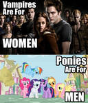 Ponies are for Men