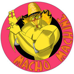 Macho Machine Widowmaker