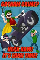 Gotham Crime? Heck Naw! It's Luigi Time!