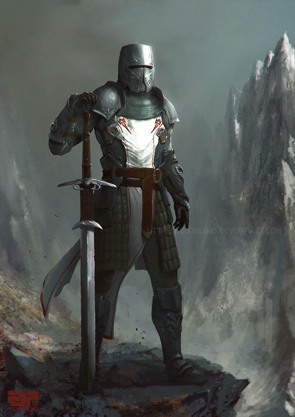 Knight by Arkiniano